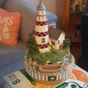 Candle Topper, Yankee candle, Lighthouse